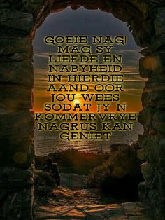 Goeie Nag, Sleep Tight, Afrikaans, Good Night, Poems, Quotes, Movie Posters, Nighty Night, Quotations