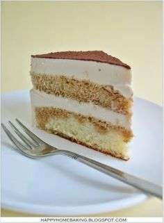 Happy Home Baking: Just a Slice of Cake