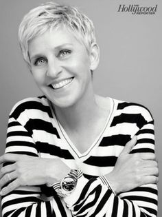 "Celeb Diary: Ellen DeGeneres in revista ""The Hollywood Reporter"""