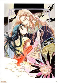 Kairi Yura, Madhouse, Saiunkoku Monogatari, Saiunkoku Monogatari Illustrations, Sakujun Sa