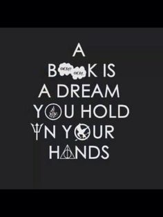 A book is a dream you hold in your hands.. fσℓℓσω . ριитєяєѕт: . @вяιιzαℓℓѕ . ◇♡☆▪▪✌❤*°•••▪▪¤¤♡♧○