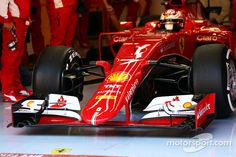 Kimi Raikkonen, Ferrari SF15-T front wing