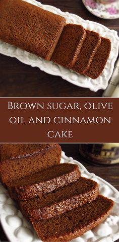 With winter and cold, hot drinks and a homemade cake are always a good solution for a family snack! Prepare this brown sugar, olive oil and cinnamon cake and serve with a hot cup of coffee! Sweet Recipes, Cake Recipes, Dessert Recipes, Candy Cakes, Cupcake Cakes, Cinnamon Cake, Cinnamon Oil, Cooking Bread, Bon Appetit