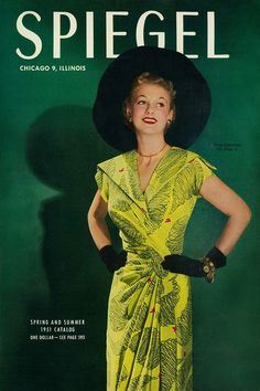 1951 Spiegel catalogue cover... I don't remember this particular year, but I LOVED the Spiegel catalog!!!