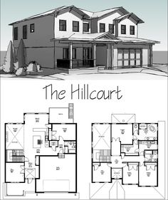 A contemporary 4 bedroom, 3 bathroom, 2 office with, an open concept kitchen house plans. Backyard Buildings, Open Concept Kitchen, Green Garden, Home Kitchens, House Plans, Floor Plans, Home And Garden, Design Ideas, Contemporary