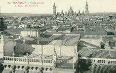 Paris Skyline, Barcelona, Louvre, Building, Travel, Vintage, Zaragoza, Temple, Antique Photos