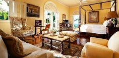 This is how we'd do a vacation in the Dominican Republic. The Peninsula House is where Victorian style meets the tropics.