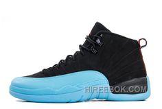 076da35d83e4d1 Air Jordans 12 Retro Gamma Blue Black Gamma Blue-Gym Red-White Cheap To Buy  S8f2DMR