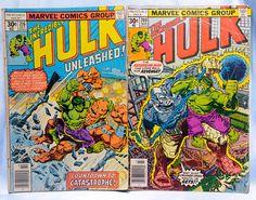2 Marvel Comics-The Incredible Hulk Comics 209 March
