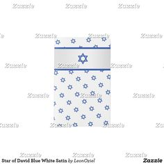 Star of David Blue White Satin Pocket Moleskine Notebook Moleskine Notebook, Pocket Notebook, Star Of David, Personalized Stationery, White Satin, Keep It Cleaner, Hand Sewing, Personal Style, Blue And White