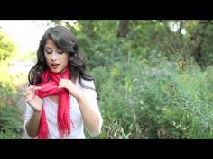 How to Tie a Scarf  - http://www.youtube.com/watch?v=ppu13tL8bFo