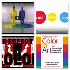 All Our Favorite Ways to Teach Color Theory in One Place! - Videos