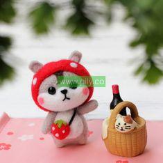Needle Felting kits for adults (7) Needle Felting Supplies, Starter Kit, Make It Yourself, Christmas Ornaments, Holiday Decor, Christmas Jewelry, Christmas Decorations, Christmas Decor