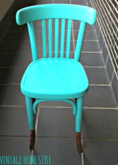 Silla Thonet, before and after