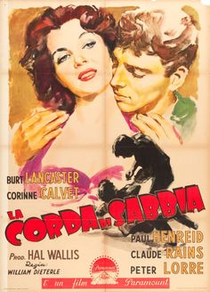 "Movie Posters:Adventure, Rope of Sand (Paramount, 1950). Italian 2 - Foglio (39"" X 55"").Adventure.. ... Image #1"