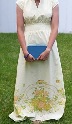 maxi dress with free tutorial