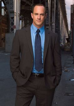 Law and Order: SVU. Christopher Meloni as Det. Elliot Stabler - Dude had me since 'Oz'. L is not the same without him.