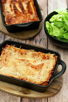 Lasagne aux courgettes et ricotta - Amandine Cooking Lasagna, Healthy Recipes, Healthy Food, Pasta, Ethnic Recipes, Meatless Lasagna, Cooker Recipes, Italian Spices, Thermomix