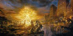 Tree of Life Framed Art) by Greg Olsen Greg Olsen Art, Arte Lds, Mormon Beliefs, Mormon Doctrine, Mormon Faith, Terra Santa, Tree Of Life Artwork, Lds Pictures, Church Pictures