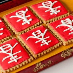 Chinese New Year cookies.
