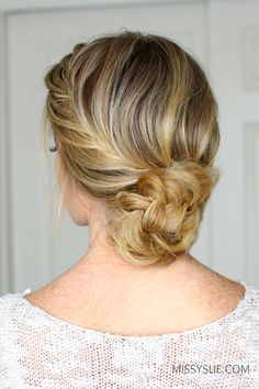 Valentine's day is next week and I think this hairstyle would be perfect for the occasion. I know this hairstyle might seem a littlefancy but just in case you feel like going all out for the holiday this only takes a few minutes to do.…