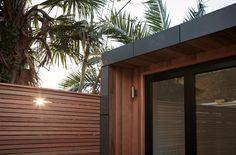 Soke Newington Project. Aluminium Fascia Garden Room