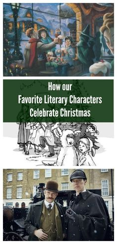 Christmas with Sherlock Holmes and other Literary Characters #SavortheSeason #Contest