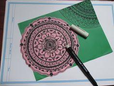 Zentangle Art/ Mandala by iLoveit-Ari