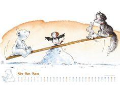 Der kleine Eisbär Kalender 2014