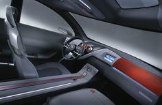 2004 Nissan Qashqai Concept Interior Transport Auto Interior Modern Minimalist Space