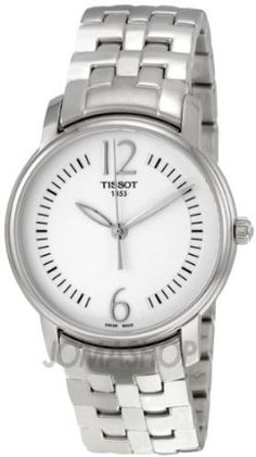 Tissot Womens T052.210.11.037.00 Silver Dial Lady Round Watch