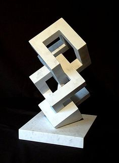 Abstract Organic and Geometric Sculpture Geometric 3d, Geometric Sculpture, Abstract Sculpture, Sculpture Art, Outdoor Sculpture, Shape Design, 3d Design, Art Mural, Art Lessons