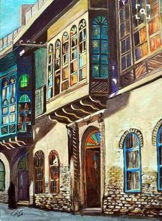 لوحات من تراث بلادي ...... Photo Tag, Middle Eastern Art, Arabian Art, Asian History, Baghdad, Art For Art Sake, Egyptian Art, Art Sketchbook, Islamic Art