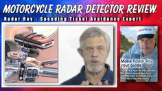 www.youtube.com/... How to select the best motorcycle radar detector. During this video you'll discover how to select the best radar detector for your motorcycle and how to properly accessorize it. Radar Roy first reviews the TPX motorcycle radar detector from Adaptive.