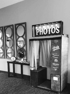 Everyone loves Union Booth enclosed, vintage style photo booths.