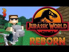 "Minecraft: Jurassic World Reborn - Ep. 3 - Building the House!"" - YouTube"