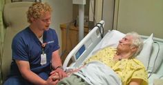 A Singing Nurse Soothes Suffering Patients With His Voice.