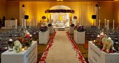 Landowne Ballroom for wedding ceremony. Vibrant Nepali Fusion Wedding in Leesburg Virginia Lansdowne Resort, Wedding Ceremony, Wedding Venues, Leesburg Virginia, Real Weddings, Indian Weddings, Reception Design, South Asian Wedding, Floral Garland