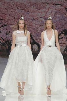 ilovebrides.pt desfile Inmaculada Garcia coleção 2017 na Barcelona Bridal Fashion Week