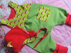 Strampler - Baby Strampler in Wunschgrössen - ein Designerstück von made-by-RiAnn bei DaWanda