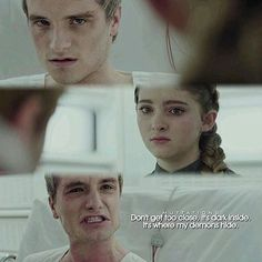 Peeta and Prim 😢 😿 -Melark 💝 .