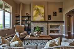 Fall Parade 2013 - transitional - living room - omaha - by Inspired Interiors