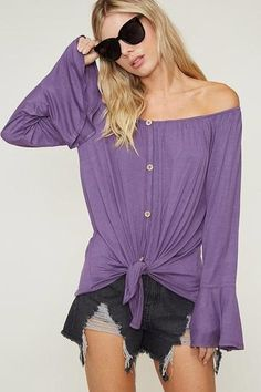 open shoulders tunic Fancy T 40-42 red and blue duck