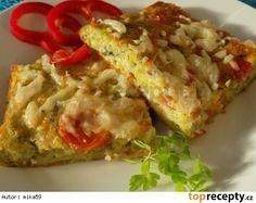 Slaný koláč z brokolice