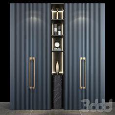Wardrobe Interior Design, Wardrobe Door Designs, Wardrobe Design Bedroom, Bedroom Furniture Design, Wardrobe Doors, Closet Designs, Bathroom Interior Design, Modern Luxury Bedroom, Luxury Bedroom Design