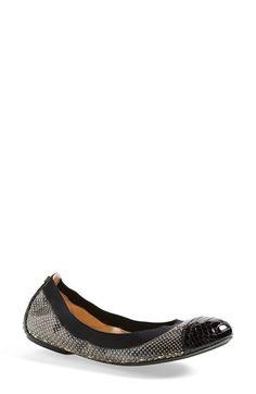 f2241061c158 Tory Burch  Bridgette  Cap Toe Ballet Flat (Women) available at  Nordstrom