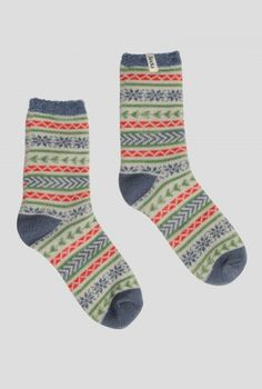 Beautiful & Practical Clothing For Women - Seasalt Cornwall Cabin Socks, Winter Outfits, Winter Clothes, Funky Socks, Comfort And Joy, Fair Isle Knitting, Christmas Knitting, Ankle Socks, Pattern Fashion