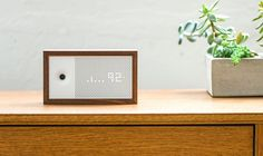 Awair is a smart device that helps you track and improve your air and shows how the indoor environment affects your health