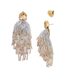 Visit Tory Burch to shop for Stone & Tassel Earring and more Womens Jewelry. Find designer shoes, handbags, clothing & more of this season's latest styles from designer Tory Burch. Tassel Earing, Beaded Tassel Earrings, Tassel Jewelry, I Love Jewelry, Bead Earrings, Stone Earrings, Bridal Earrings, Beaded Jewelry, Jewelery