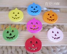 MINI CLOTHES PEGS Ideal for Crafting Halloween Colours x 100